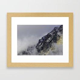 Grand View  Tetons Mountains Framed Art Print