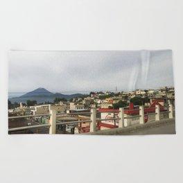 Guate City Beach Towel
