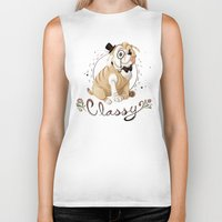 classy Biker Tanks featuring Classy by Jelly and Paul