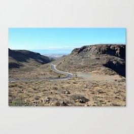 Mountains of Gran Canaria Canvas Print