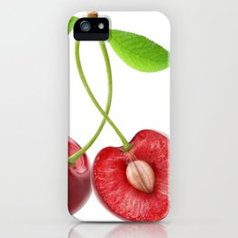 Sweet cherries iPhone Case