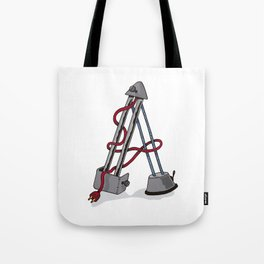 Machine Letters - A Tote Bag