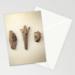 Wood pieces Stationery Cards
