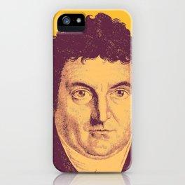 Johann Gottlieb Fichte iPhone Case