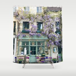 Au Vieux Paris Shower Curtain