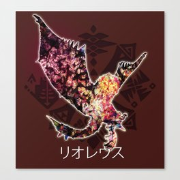 Rathalos Canvas Print