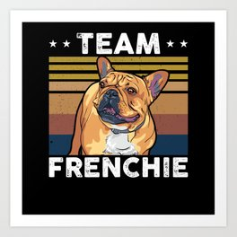 French Bulldog Dog Owner Gift Art Print
