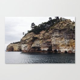 Pictured Rocks II Canvas Print