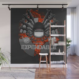 Everyone is EXPENDABLE - SOLDIER Wall Mural