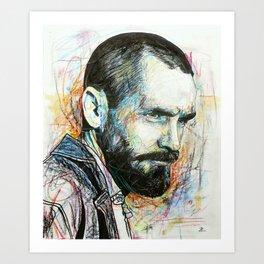 Charles Manson Art Print