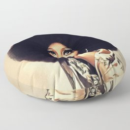 Diana Ross, Music Legend Floor Pillow
