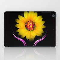 sunflower iPad Cases featuring Sunflower by Walter Zettl