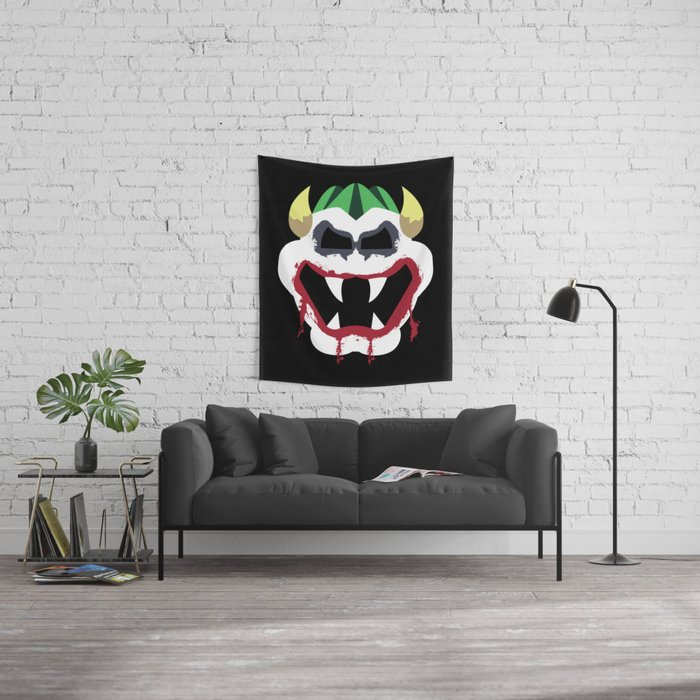Joke's On You Bowser Wall Tapestry