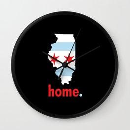 Illinois Proud Wall Clock