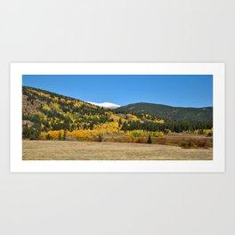 The First Fall Art Print