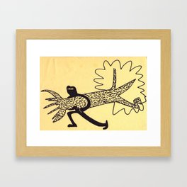 Ninja No.1 Framed Art Print