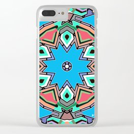 Abstract 03 Clear iPhone Case