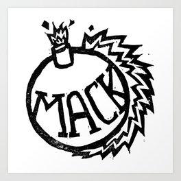 MackBomb Art Print