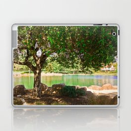 tree by the lake || color Laptop & iPad Skin