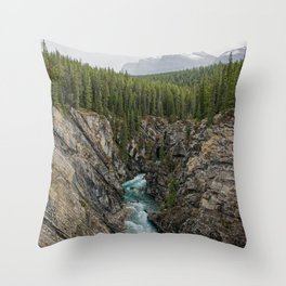 One Way Road Throw Pillow