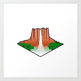 Angel Falls Venezuela! Art Print