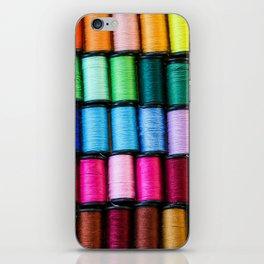 Cotton Reels iPhone Skin