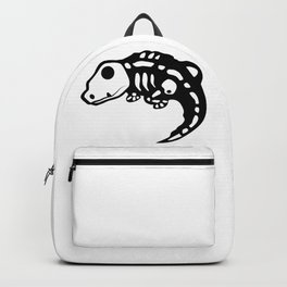 Lizard skeleton Backpack