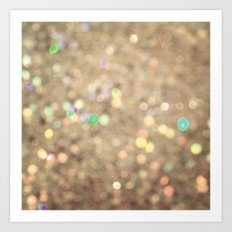 Sparkle On Sparkle Art Print