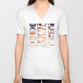 Connecting lines 4. Unisex V-Neck