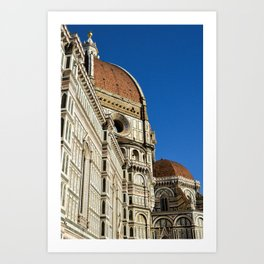 Cathedral of Santa Maria del Fiore, Florence Art Print