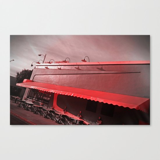 Fred's Canvas Print