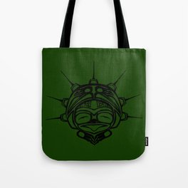 Ink Frog Grass Tote Bag