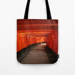 The Torri Gates of Fushimi Inari Taisha Tote Bag