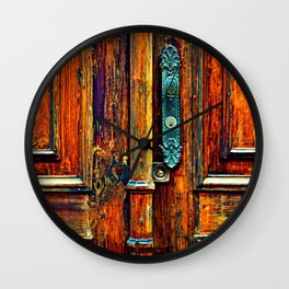 Doorways V Wall Clock