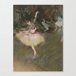 Edgar Degas - The Star Canvas Print