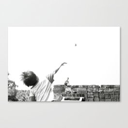 FIGHT FOR THE TEMPLES Canvas Print