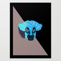 thundercats Art Prints featuring Tygra - Thundercats by Camilo