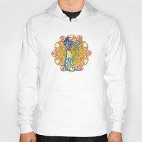 sacred geometry Hoodies featuring Sacred Geometry Thoth Mandala by Jam.