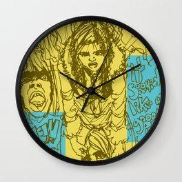 Mal y de Malas Wall Clock