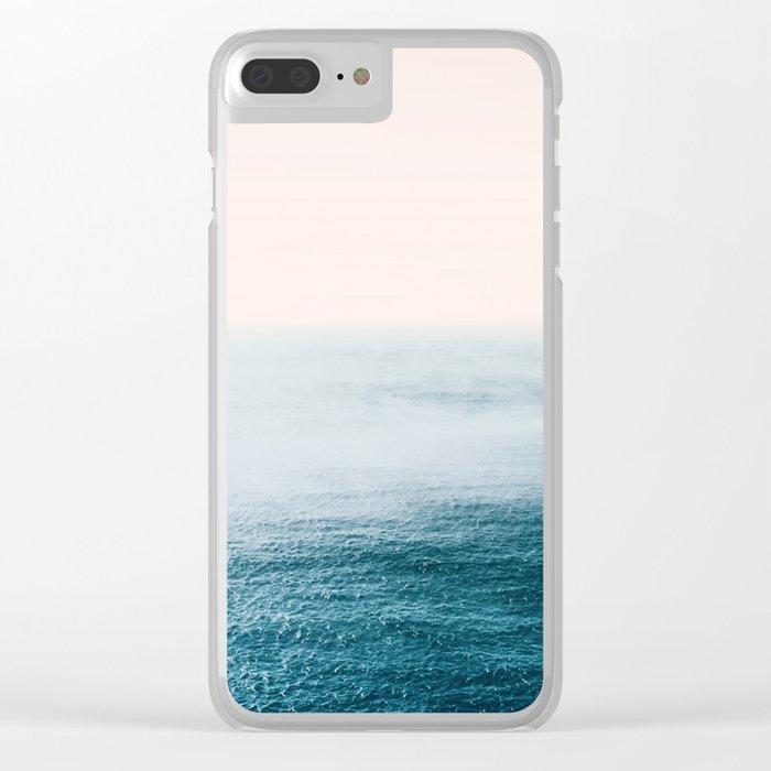 Ocean Fog Clear iPhone Case
