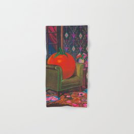 Therapy With A Tomato Milton Glaser - Tomato- Something unusual is going on here - 1978 Hand & Bath Towel