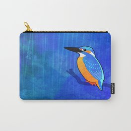 Common Kingfisher (Alcedo atthis) Carry-All Pouch