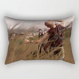 The Killer Wears Overalls Rectangular Pillow