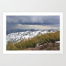 Sonora Peak Art Print