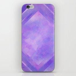 Mosaic Tile // Violet Watercolour iPhone Skin