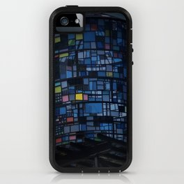 Stained glass water tower iPhone Case