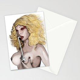 Amanda Lepore - Breast Feeding Stationery Cards