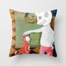 Little Red Riding Hood II Throw Pillow