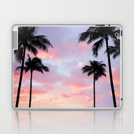 Palm Trees and Sunset Laptop & iPad Skin