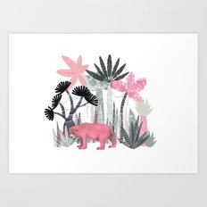Mini Jungle  Art Print